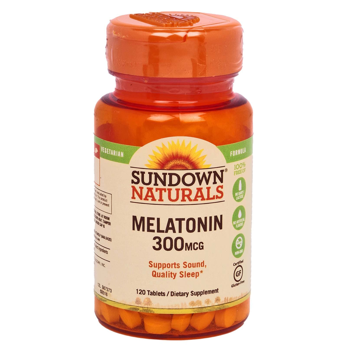 Sundown Melitonin 300mg - Suupports restful sleep, and is ideal when you're experiencing occasional sleeplessness (24/cs)
