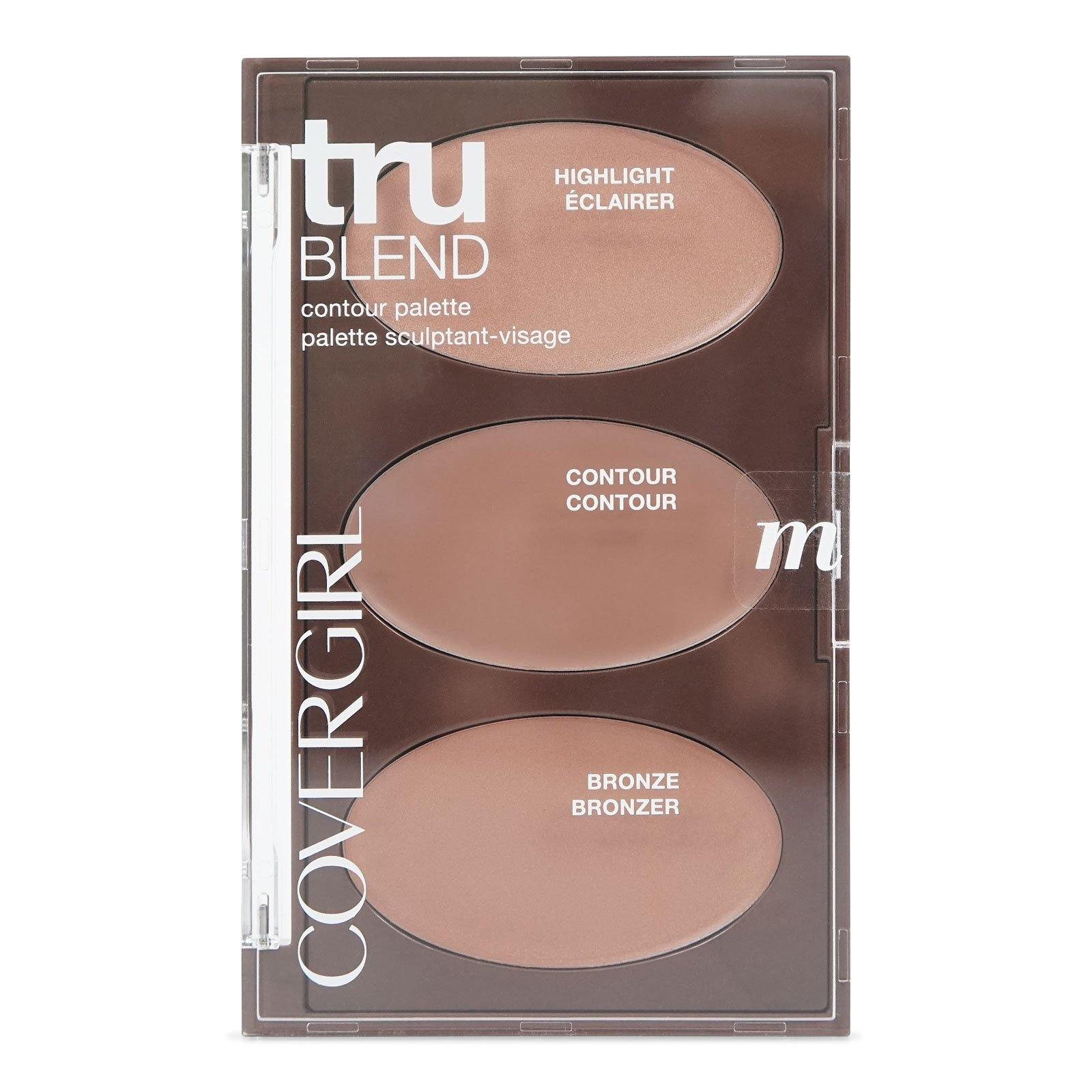 COVERGIRL TRUBLEND CONTOUR PALETTE - MEDIUM (12/cs)