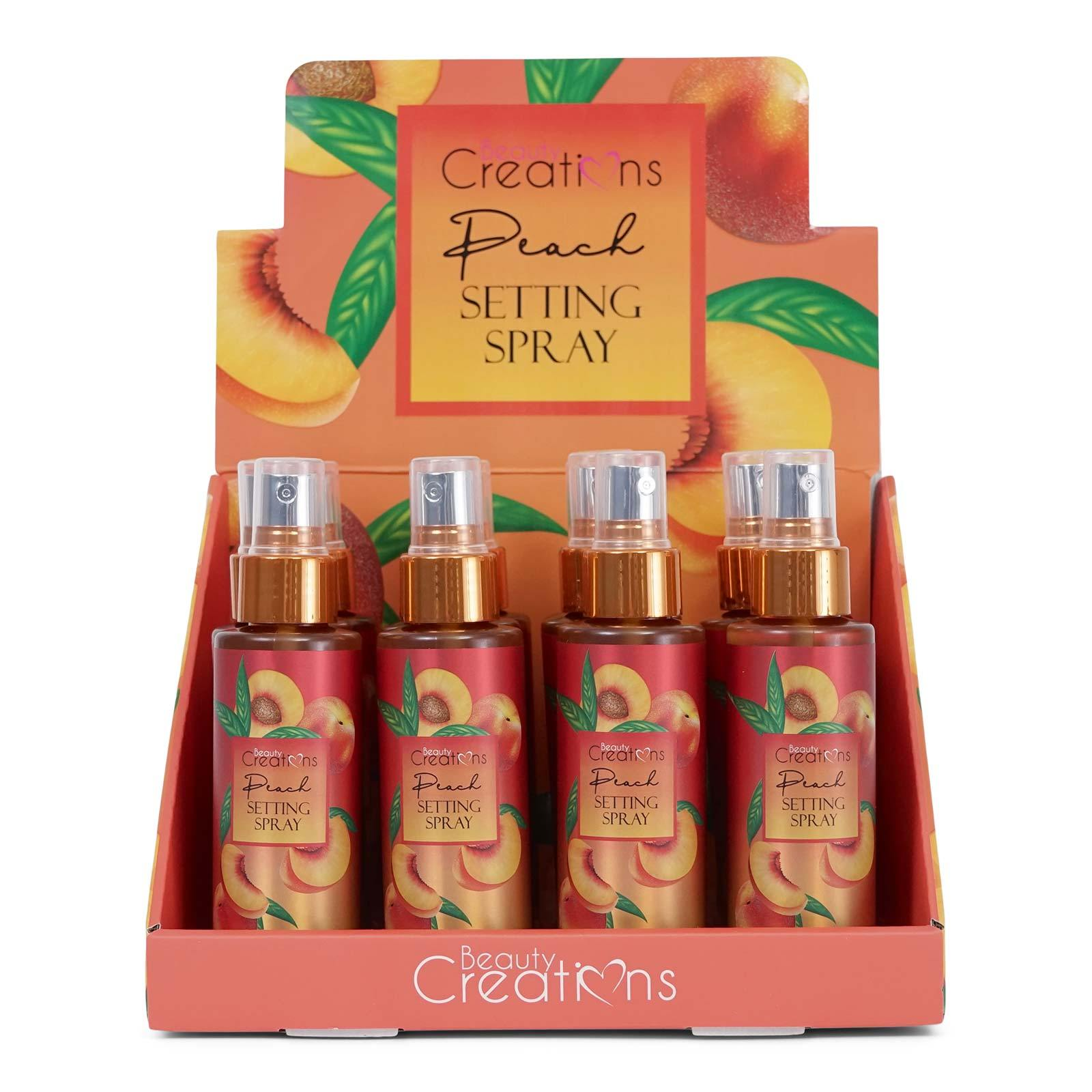 BEAUTY CREATIONS | Peach Setting Spray (Case of 12)