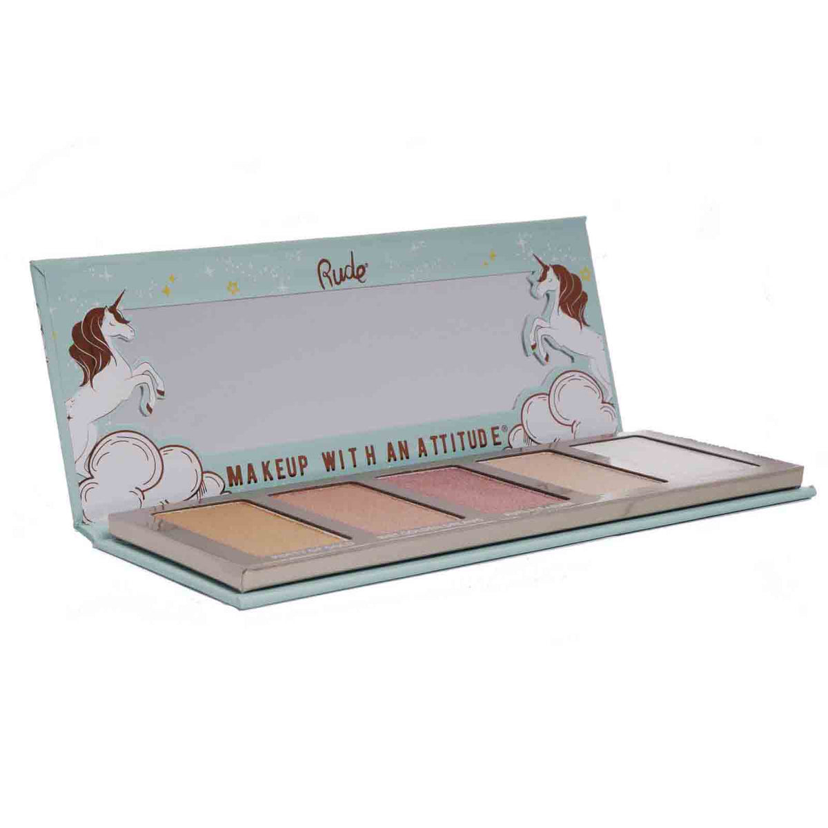 RUDE COSMETICS | Unicorn Fantasies Highlighter Palette (12/cs)