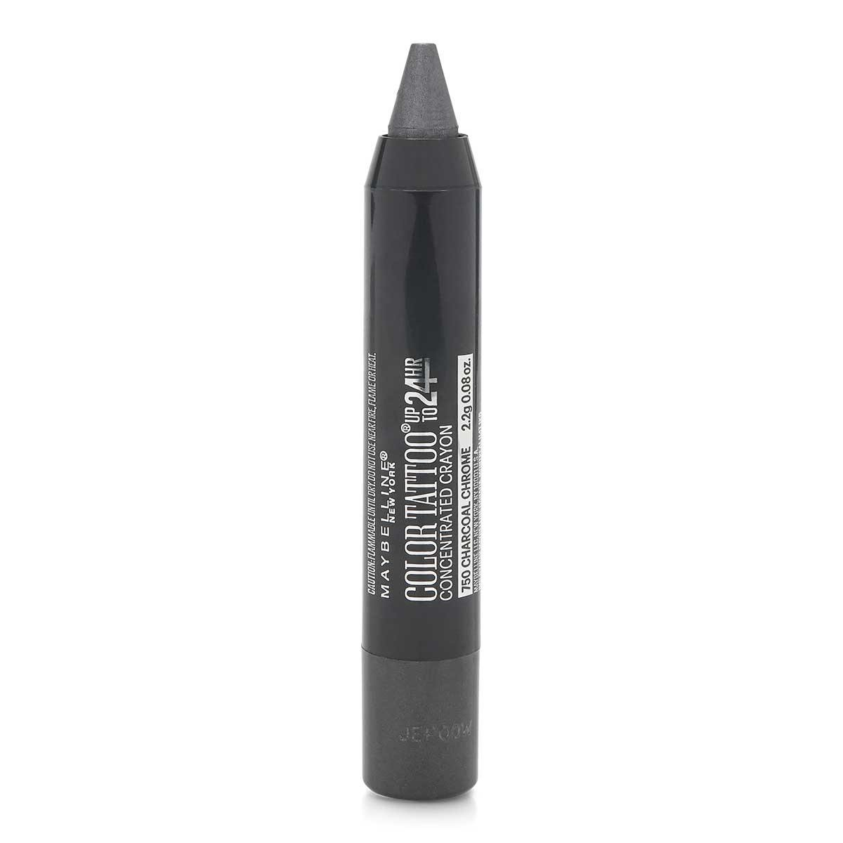 MAYBELLINE COLOR TATTOO CRAYON - CHARCOAL (24/cs)