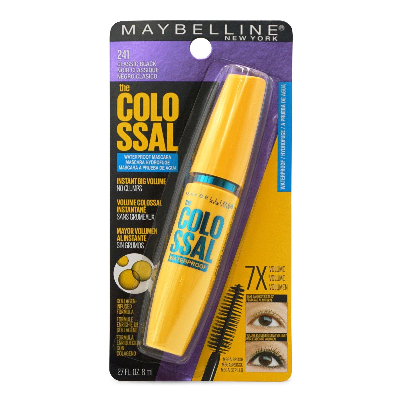 Maybelline Volum' Express, The Waterproof Mascara, Classic Black