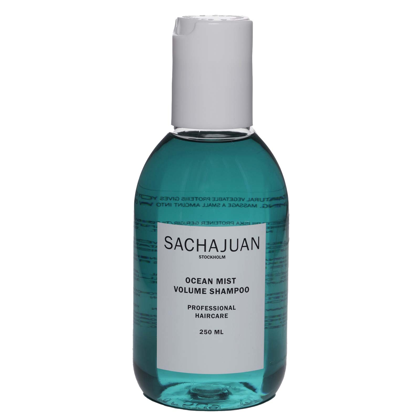 SACHA JUAN SHAMPOO OCEAN MIST, Has natural vegetable proteins that add structure, volume & strength. (250ML) (12/cs)