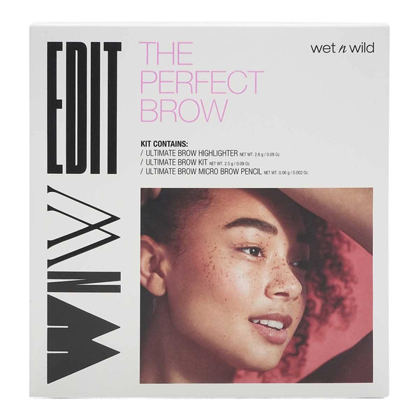 Wet n Wild Edit The Perfect Brow Set (3 juegos por caja) (6 / caja)