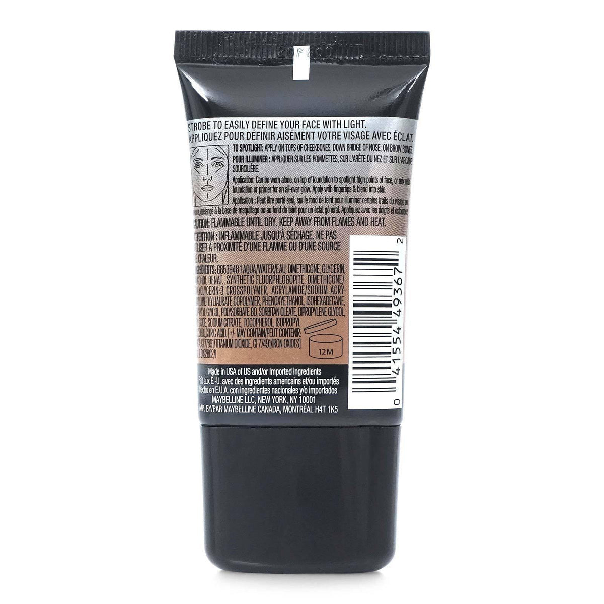 MAYBELLINE MASTER STROBE HIGHLIGHTING LIQUID # 300 (24/cs)