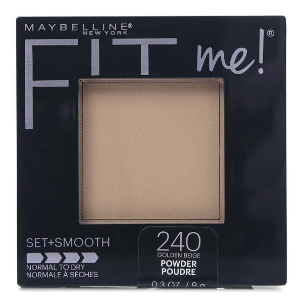 Maybelline Fit Me Set + Smooth Powder  - Golden Beige 240 (24/cs)