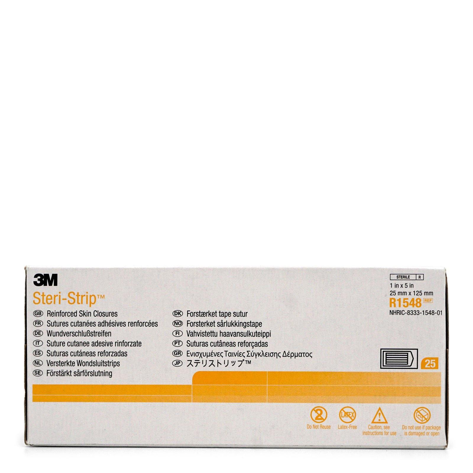 3M Healthcare | Nexcare Steri-Strip Skin Closure, 1''x 5'' (100/cs)