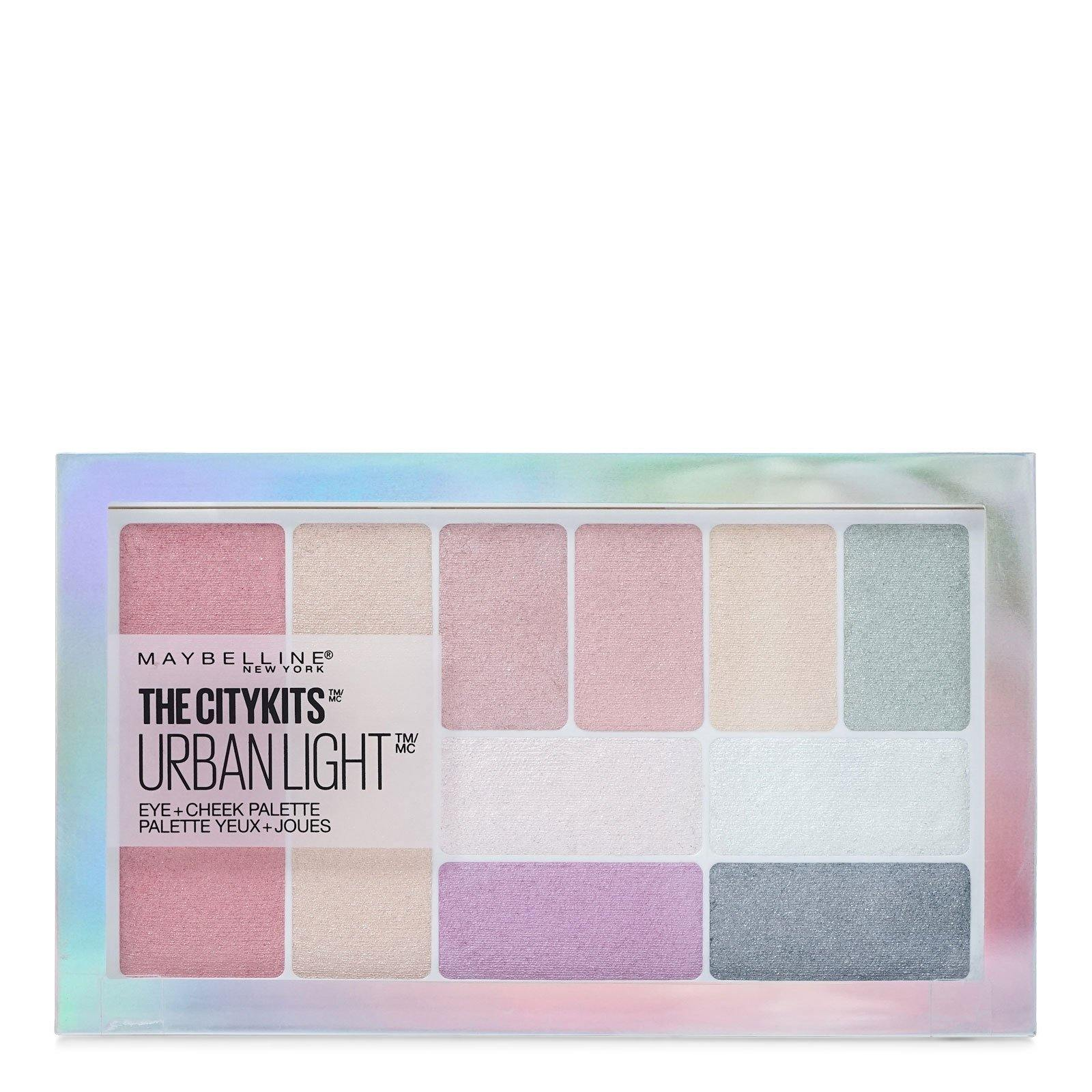 MAYBELLINE THE CITY URBAN LIGHTS PALETTE # 150 (24/cs)