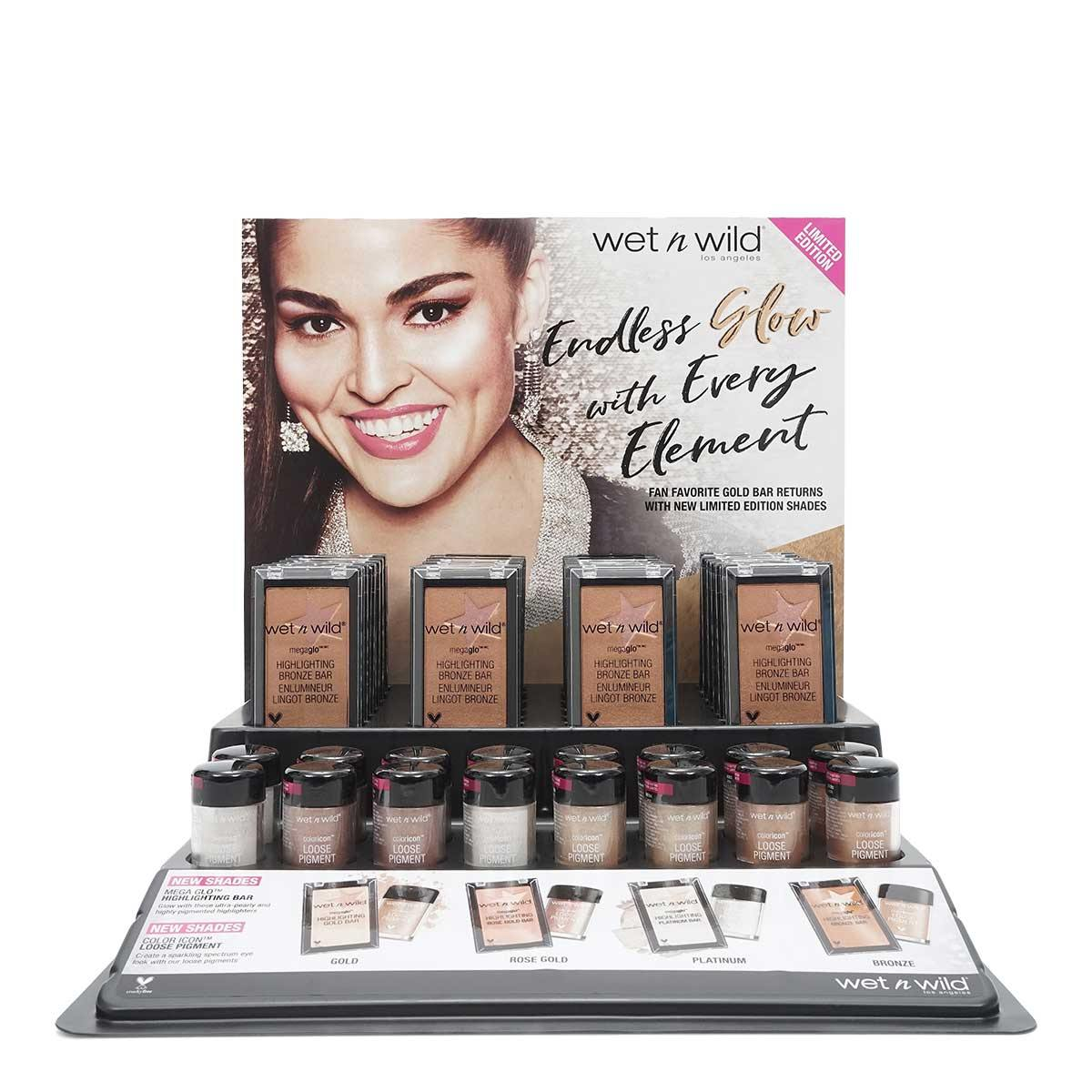 Wet n Wild National Holiday MegaGlo Glow Bar 40pc Display (1/cs)