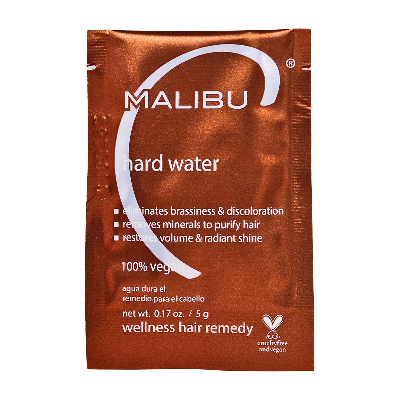 Hard Water Weekly Demineralizer, naturally removes hard water deposits and impurities leaving hair instantly softer - Pack Of 12 (0.17oz)  (12/cs)