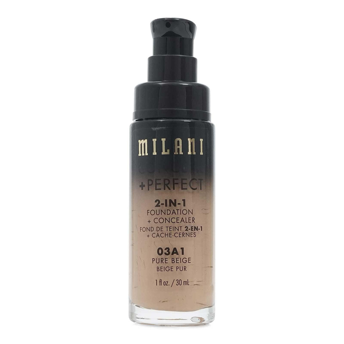 MILANI CONCEAL & PERFECT 2in1 FOUND- PURE BEIGE (24/cs)