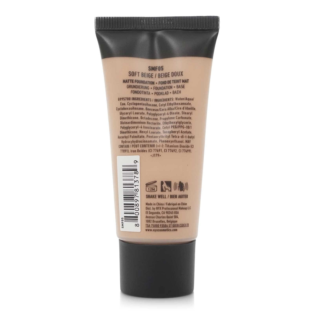 NYX STAY MATTE NOT FLAT FOUNDATION (24/cs)