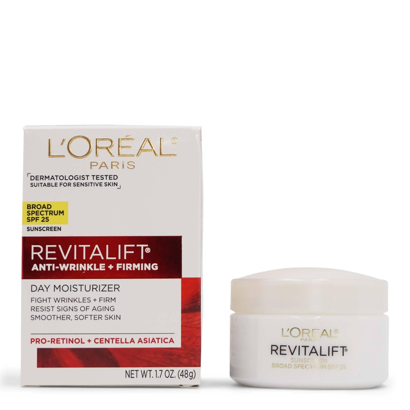 L'Oreal Revitalift Anti-wrinkle + Firming Day Cream SPF 25 (24/cs)
