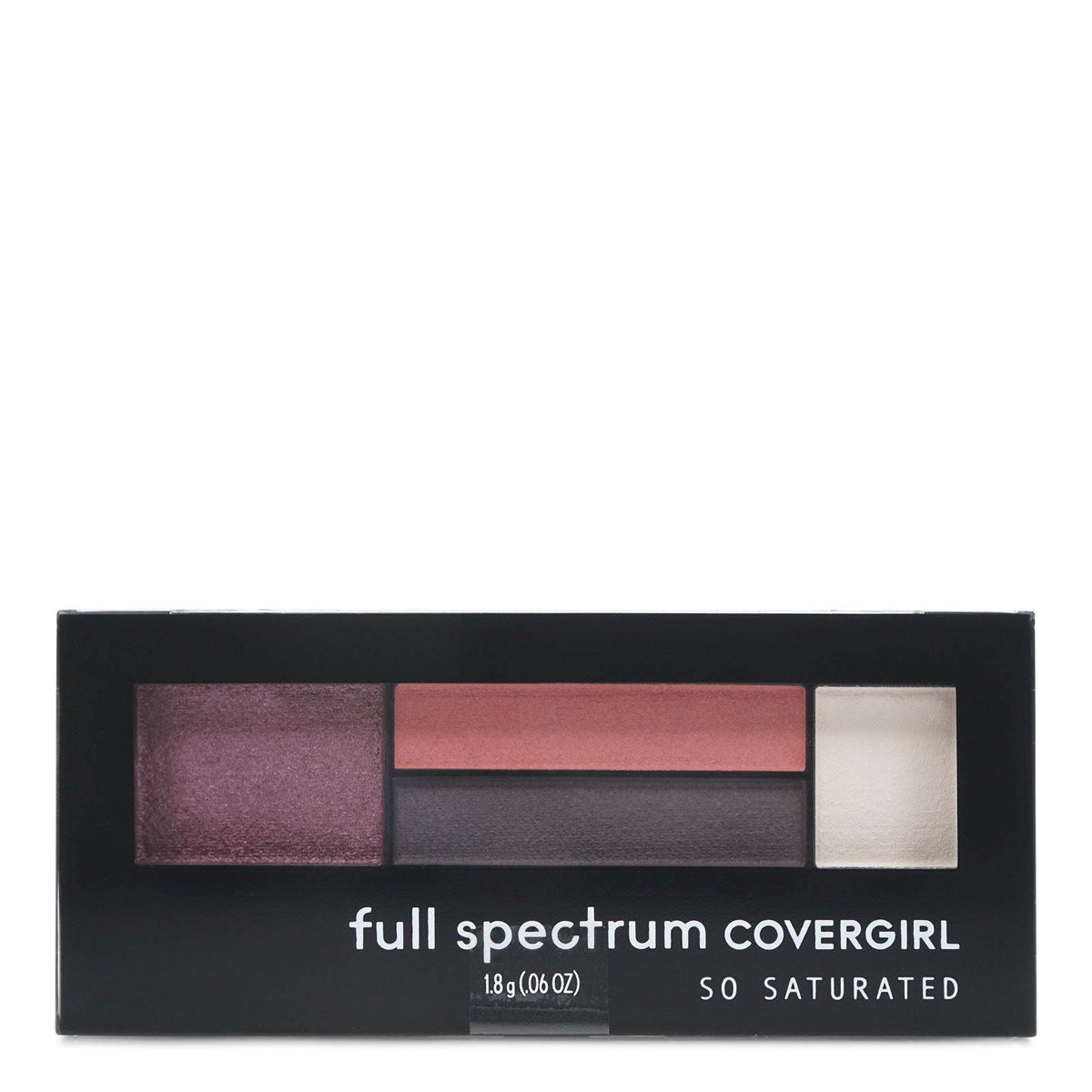COVERGIRL SO SATURATED QUAD EYESHADOW - Case of 24 units