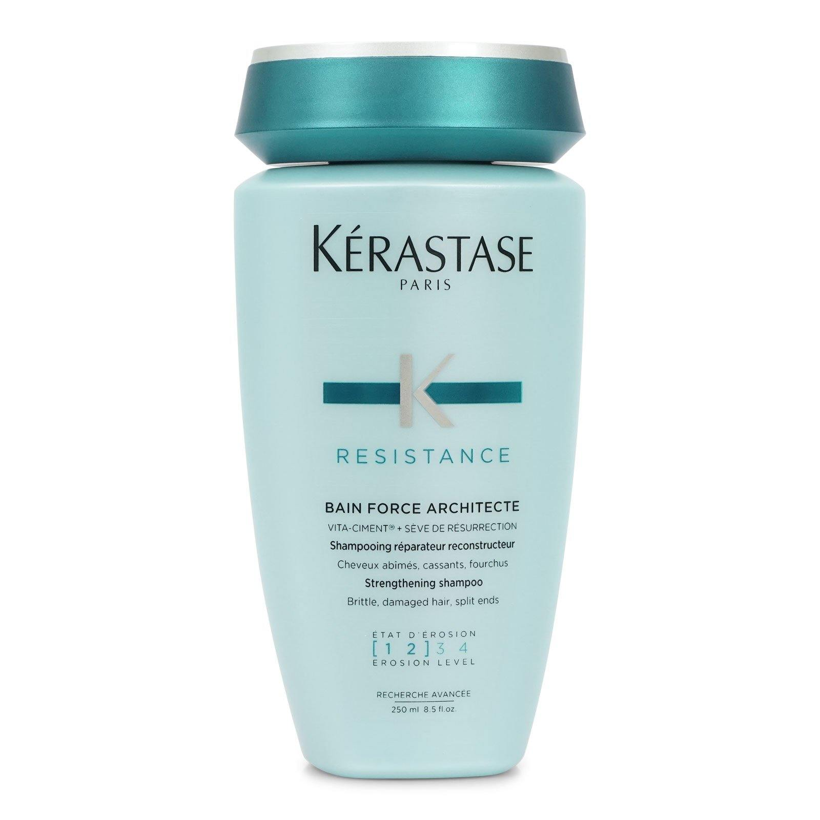 Kerastase Resistance Bain Force Architecte Shampoo 250ml/8.5 fl oz (3/cs)