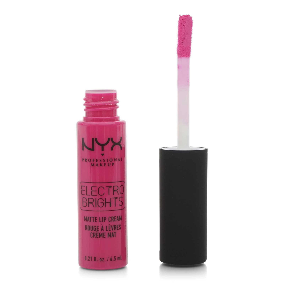 NYX ELECTRO BRIGHTS MATTE LIP CREAM (24/cs)
