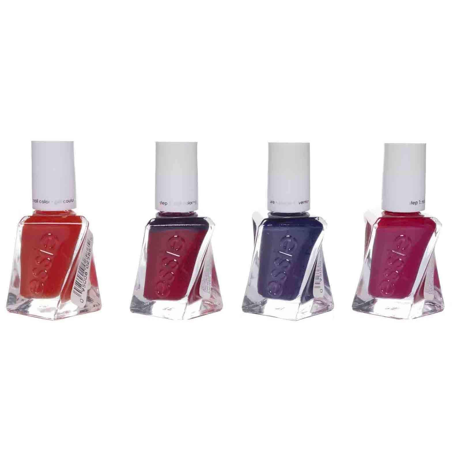 Essie Gel Couture Nail Polish, no lamp needed, easy removal - Assorted Shades 24 Units (0.46oz) (24/cs)
