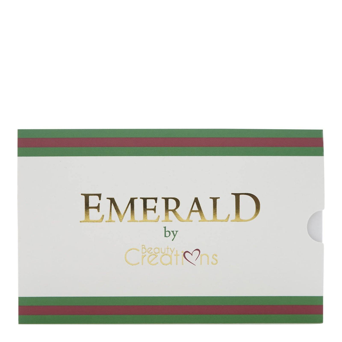 Beauty Creations Emerald Eyeshadow Palette, E15-C (15 Colors X Case of 12) (12/cs)
