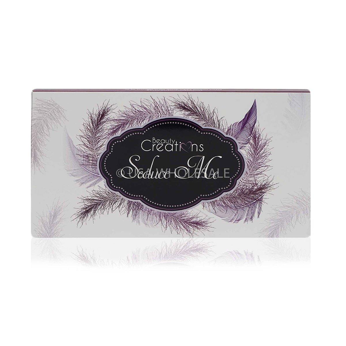 BEAUTY CREATIONS | Seduce Me Eyeshadow Palette Display Set (18 Colors X Case of 6)