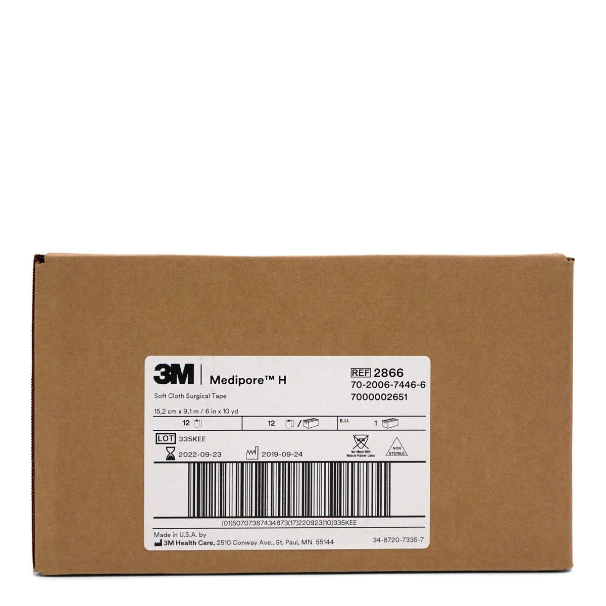 3M Healthcare | Medipore Soft Cloth Surgical Tape (12/cs)