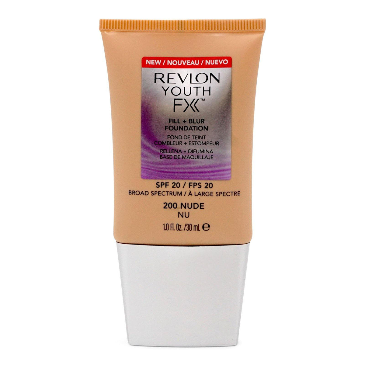 Revlon YOUTH FX FILL + BLUR SPF 20 FOUNDATION, Nude (24/cs)