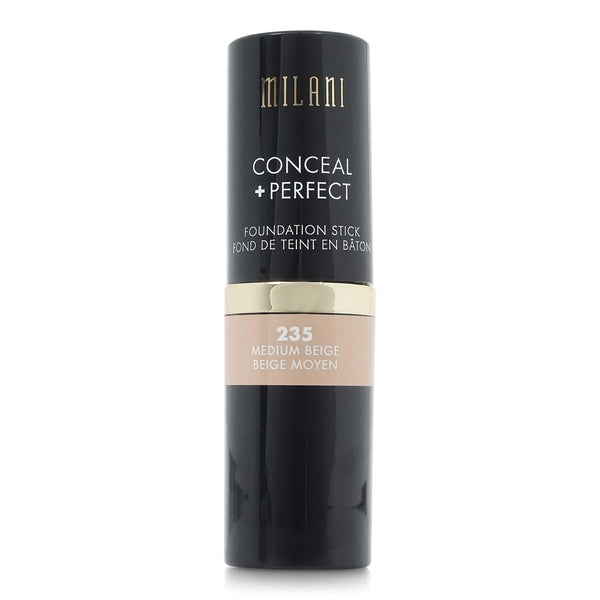 MILANI CONCEAL & PERFECT FOUNDATION STICK - MEDIUM BEIGE (24/cs)