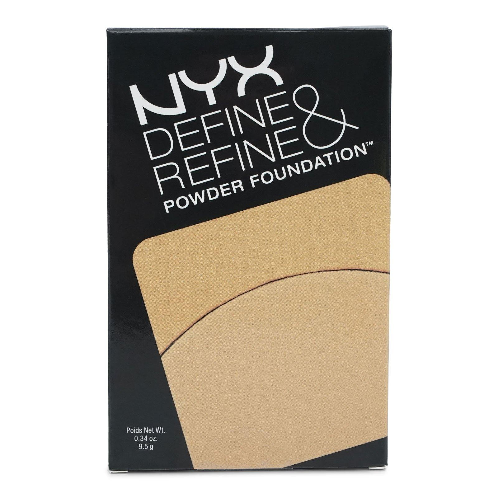 NYX DEFINE & REFINE POWDER FOUNDATION - GOLDEN (24/cs)