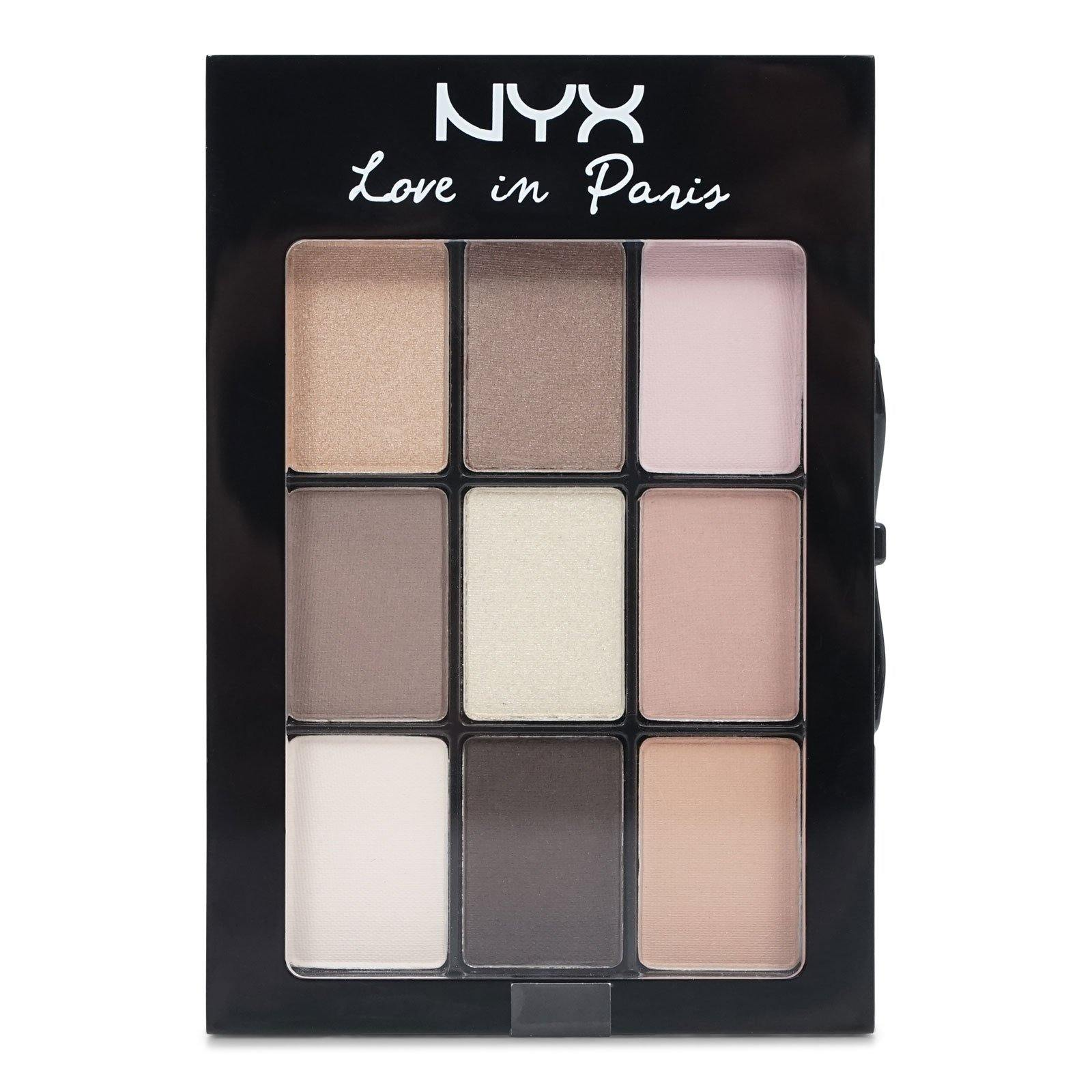 NYX Love In Paris Eyeshadow Palette, Madeleines and Macaroons (24/cs)
