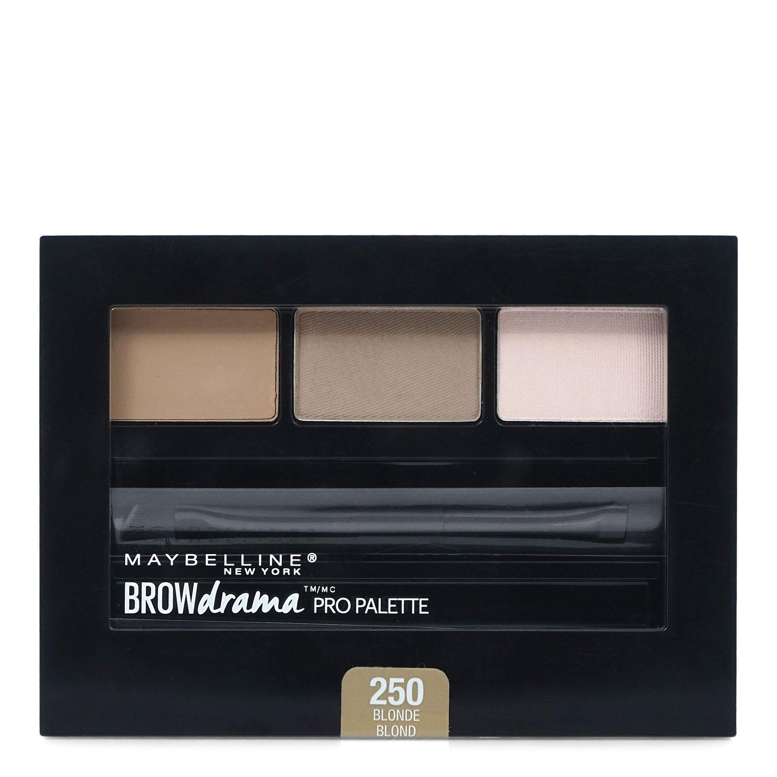 MABELLINE BROW DRAMA PRO PALETTE- BLONDE # 250 (24/cs)