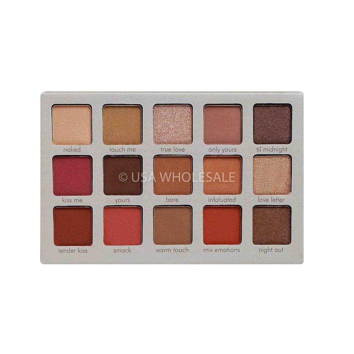 BEAUTY CREATIONS | Irresistible Collection Eyeshadow Palette (15 Colors X Case of 12)