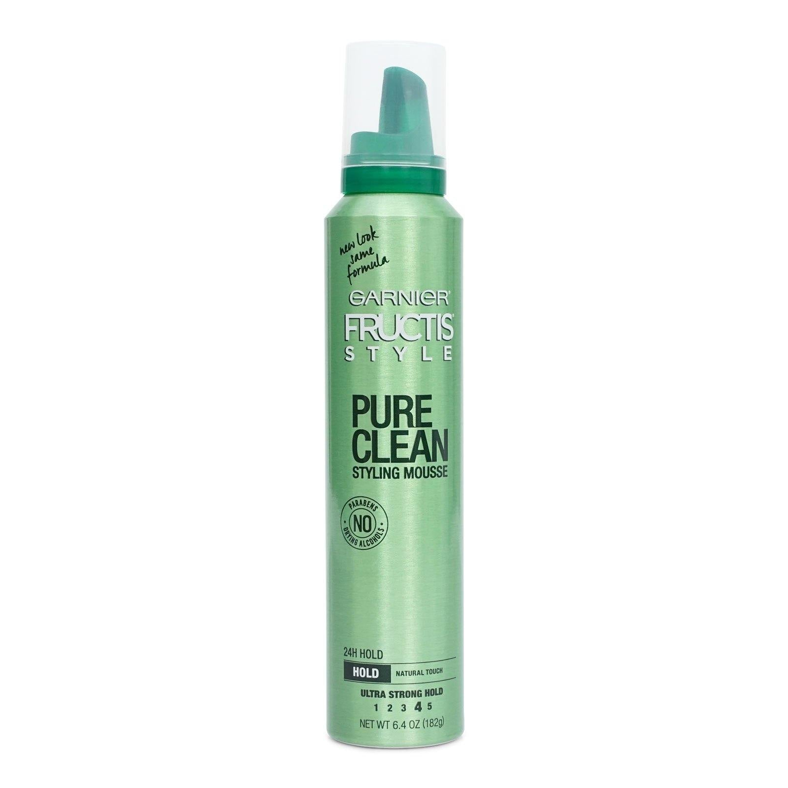 GARNIER PURE CLEAN STYLING MOUSSE 6.4 OZ (12/cs)