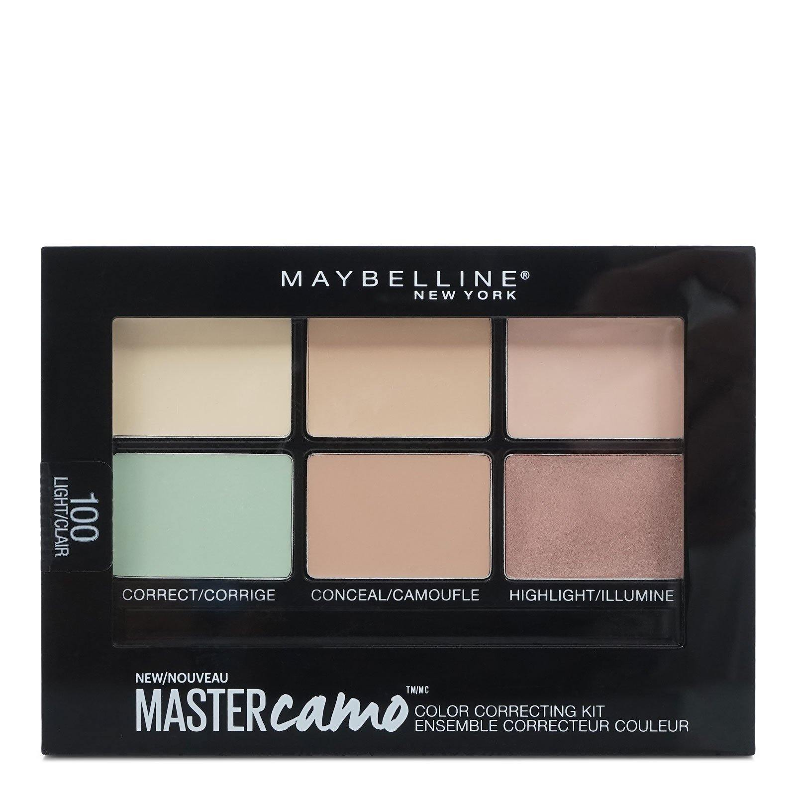 Maybelline Facestudio Master Camo Color Correcting Kit, Light