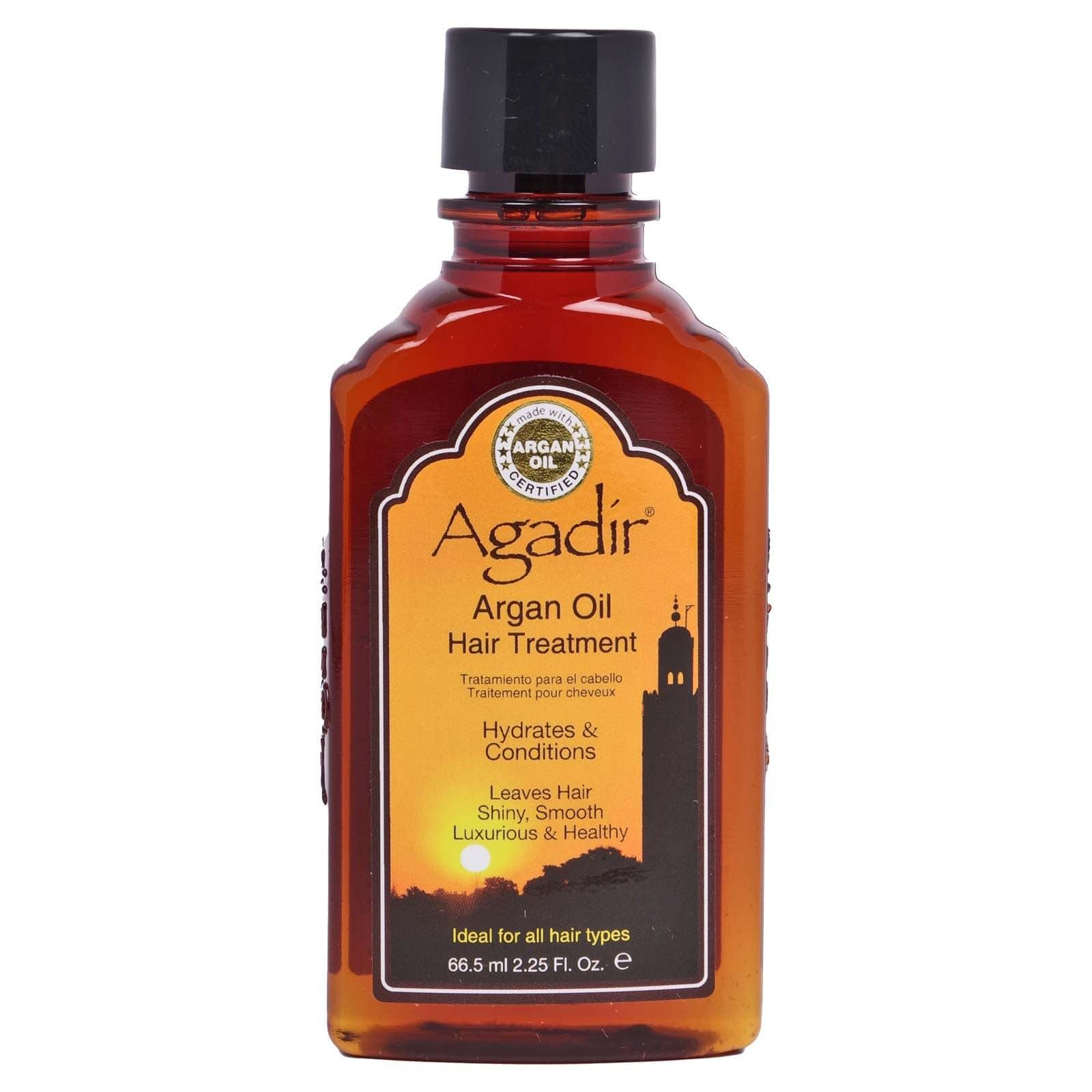 AGADIR ARGAN OIL TREATMENT, alcohol free, strengthens dry, brittle hair - (2.25oz) (12/cs)