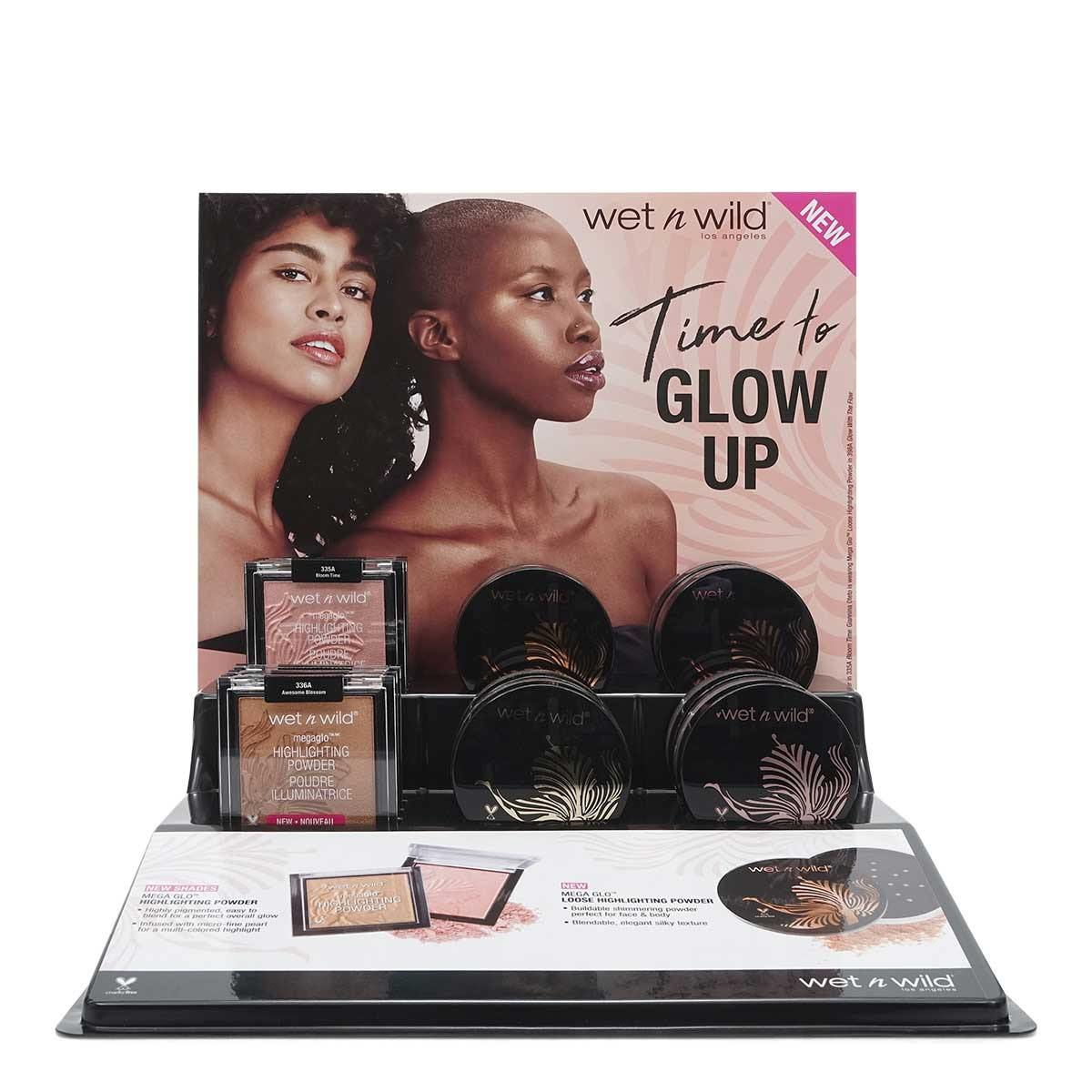 Wet n Wild MegaGlo Highlighting Powder 14pc Display (1/cs)
