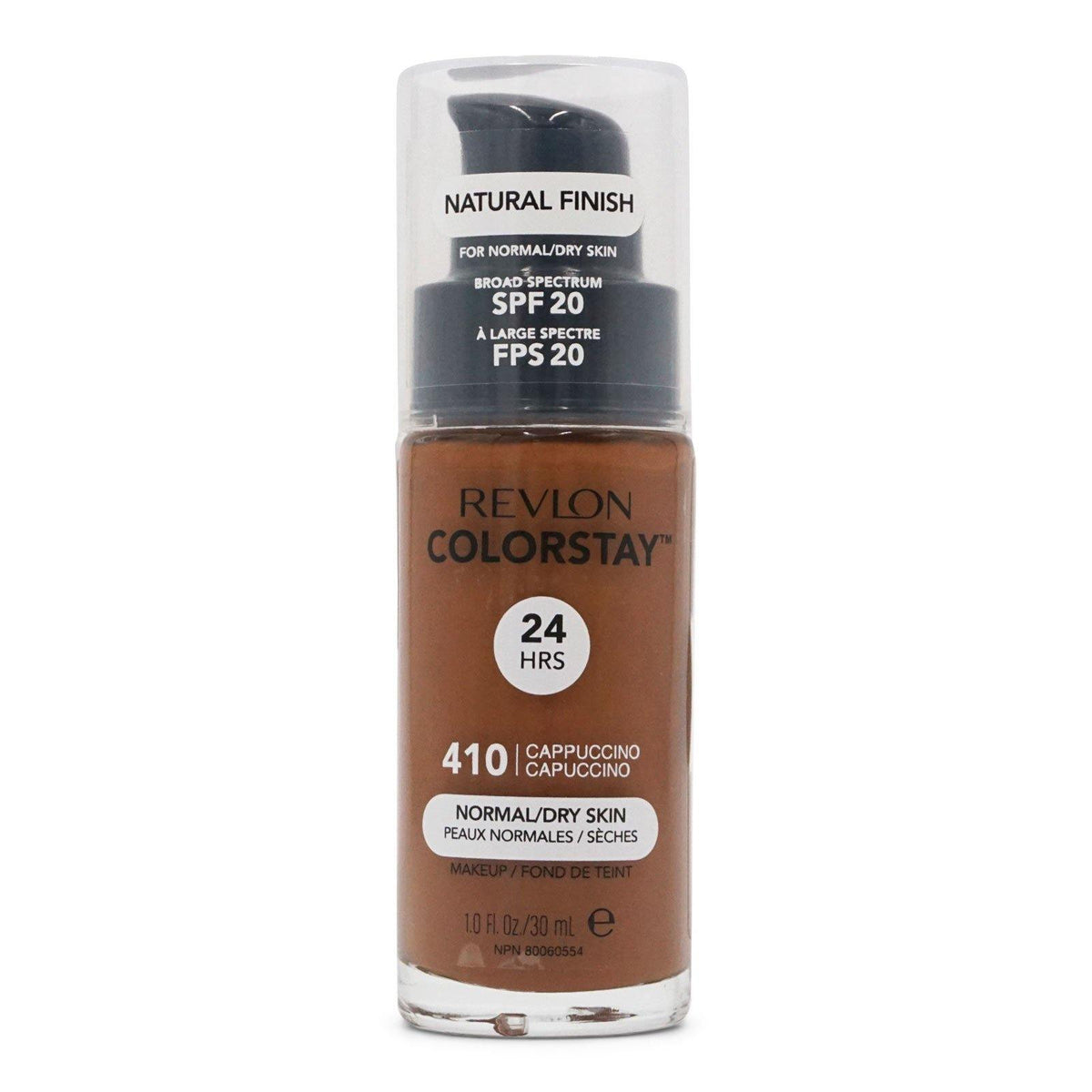 Revlon -  ColorStay Foundation, Normal to Dry Skin, Cappuccino (24/cs)