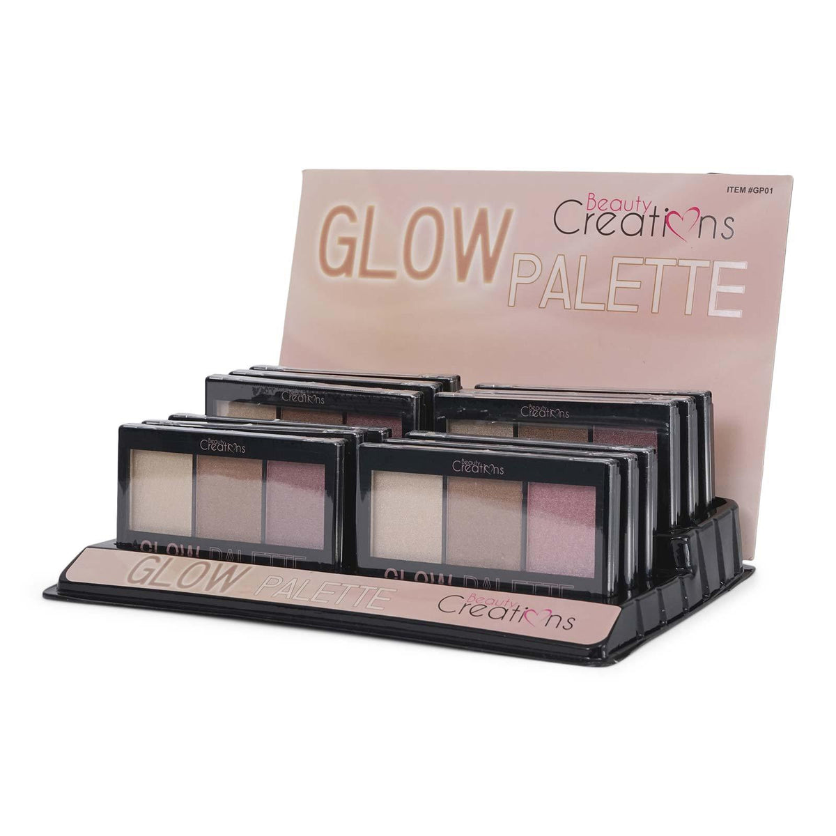 BEAUTY CREATIONS | Glow 1 Highlighter Display Case of 12