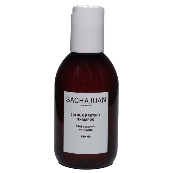 SACHA JUAN SHAMPOO  COLOUR PROTECT, removes dry dandruff and itchiness - (250ml) (12/cs)