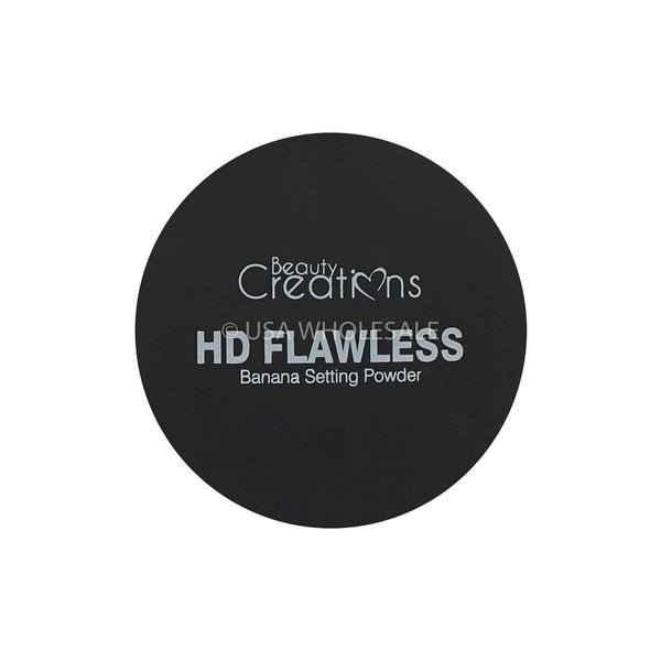 BEAUTY CREATIONS | Translucent + HD Flawless Banana Setting Powder (Case of 24)