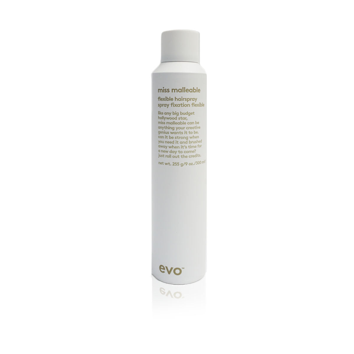 Evo miss malleable flexible hairspray, improves styling along and slight hold - Case of 3 bottles 30ml / 1.01fl.oz (New)