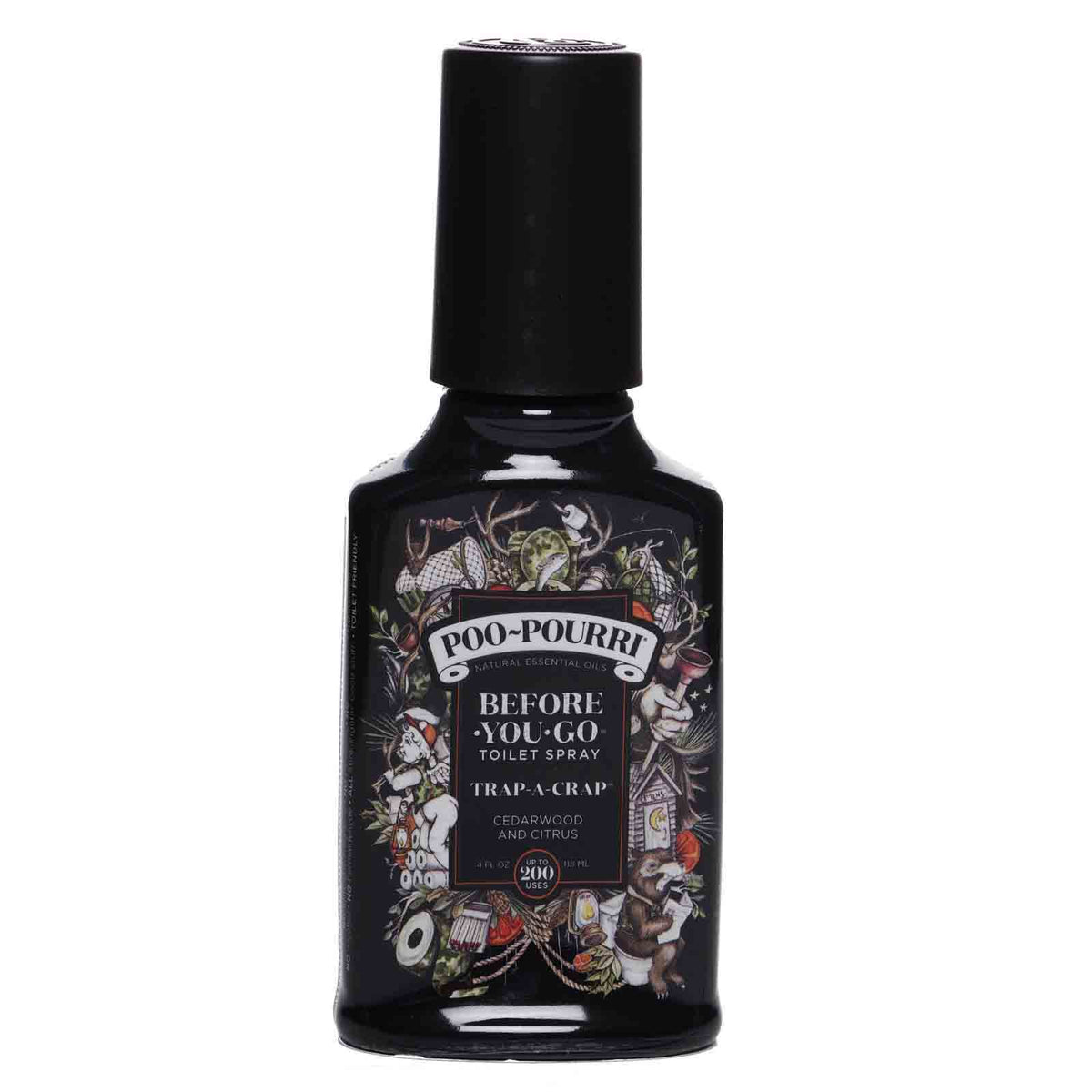 POO-POURRI | Before-You-Go Toilet Spray Trap-A-Crap-4oz (24/cs)