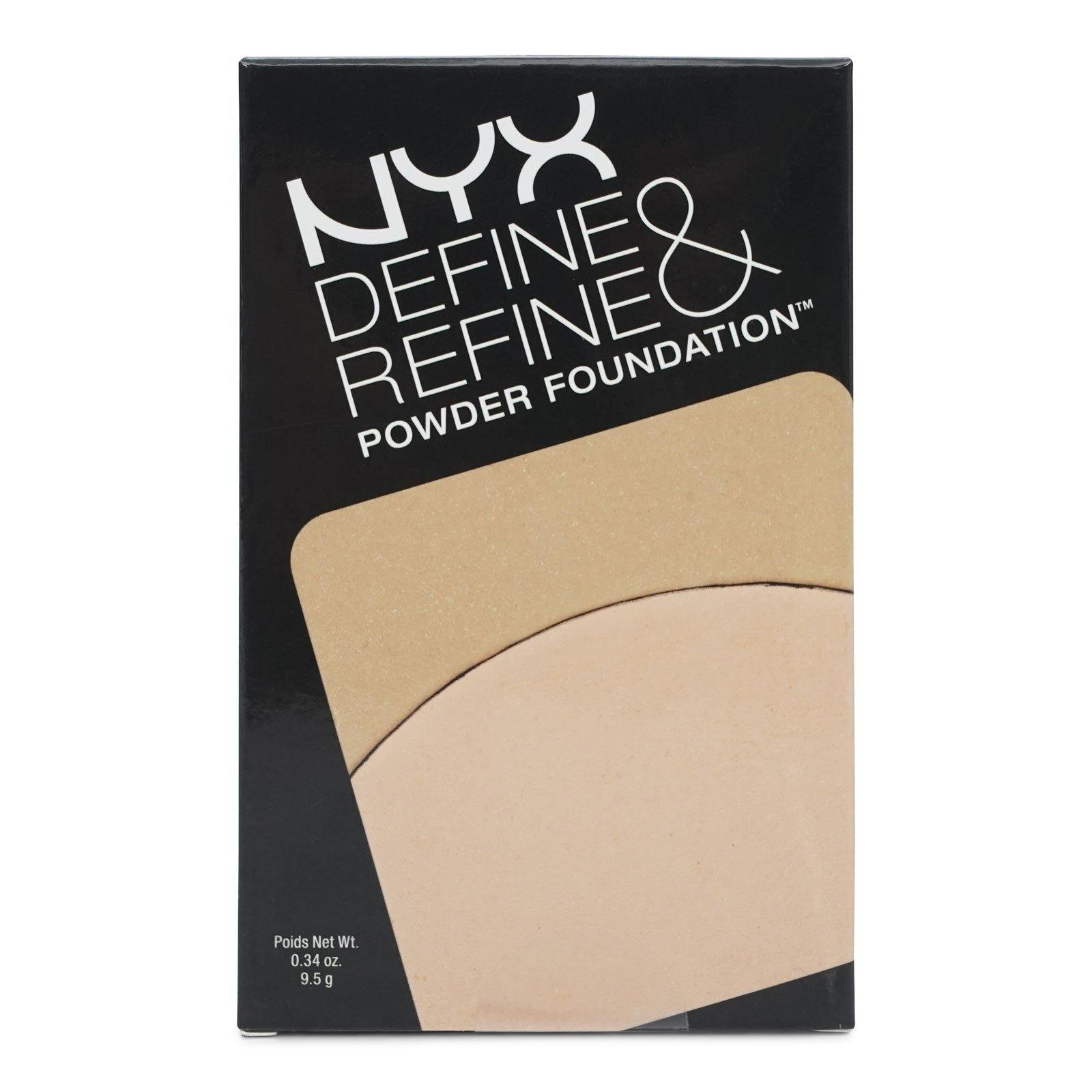 NYX DEFINE & REFINE POWDER FOUNDATION - LIGHT (24/cs)