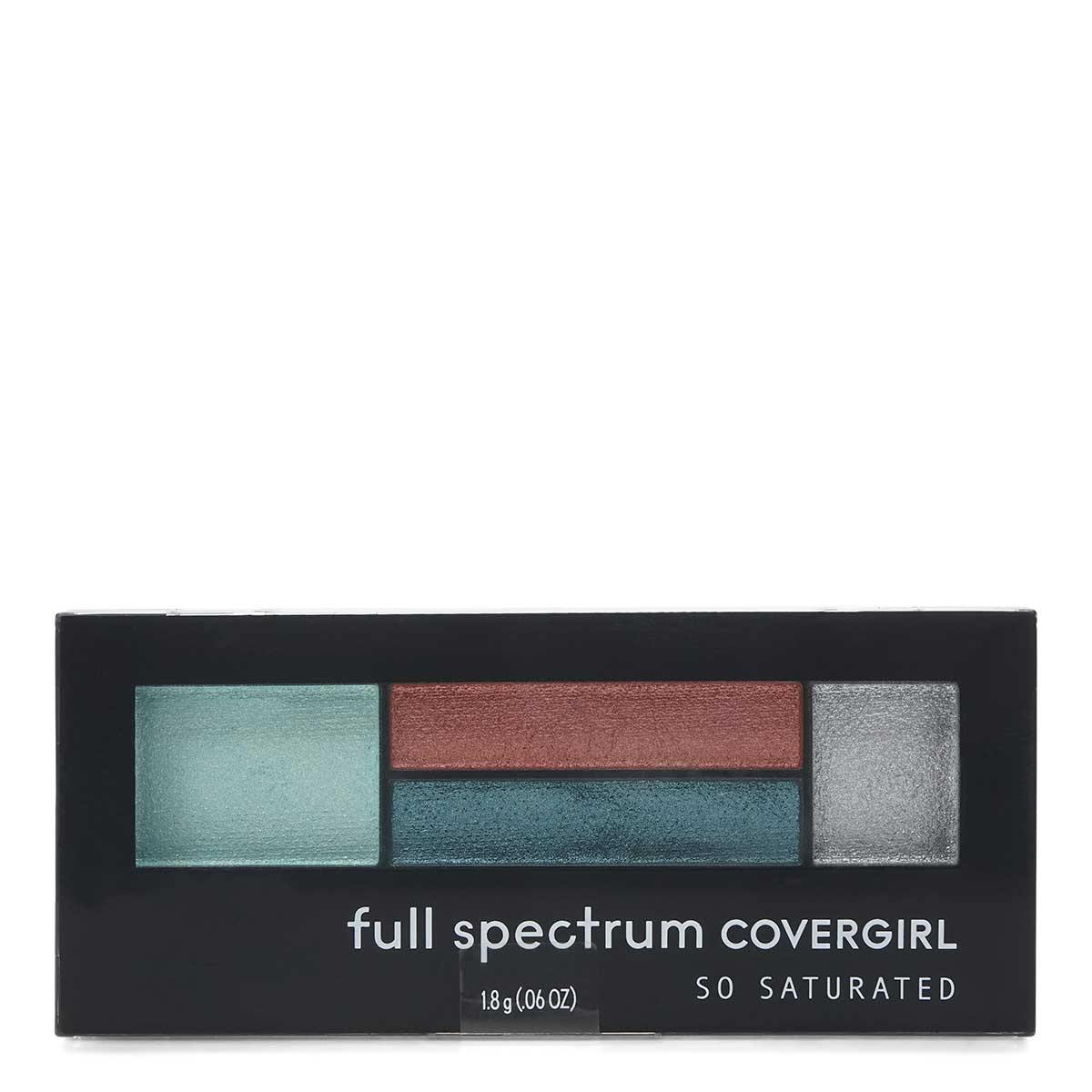 COVERGIRL SO SATURATED QUAD EYESHADOW (24/cs)