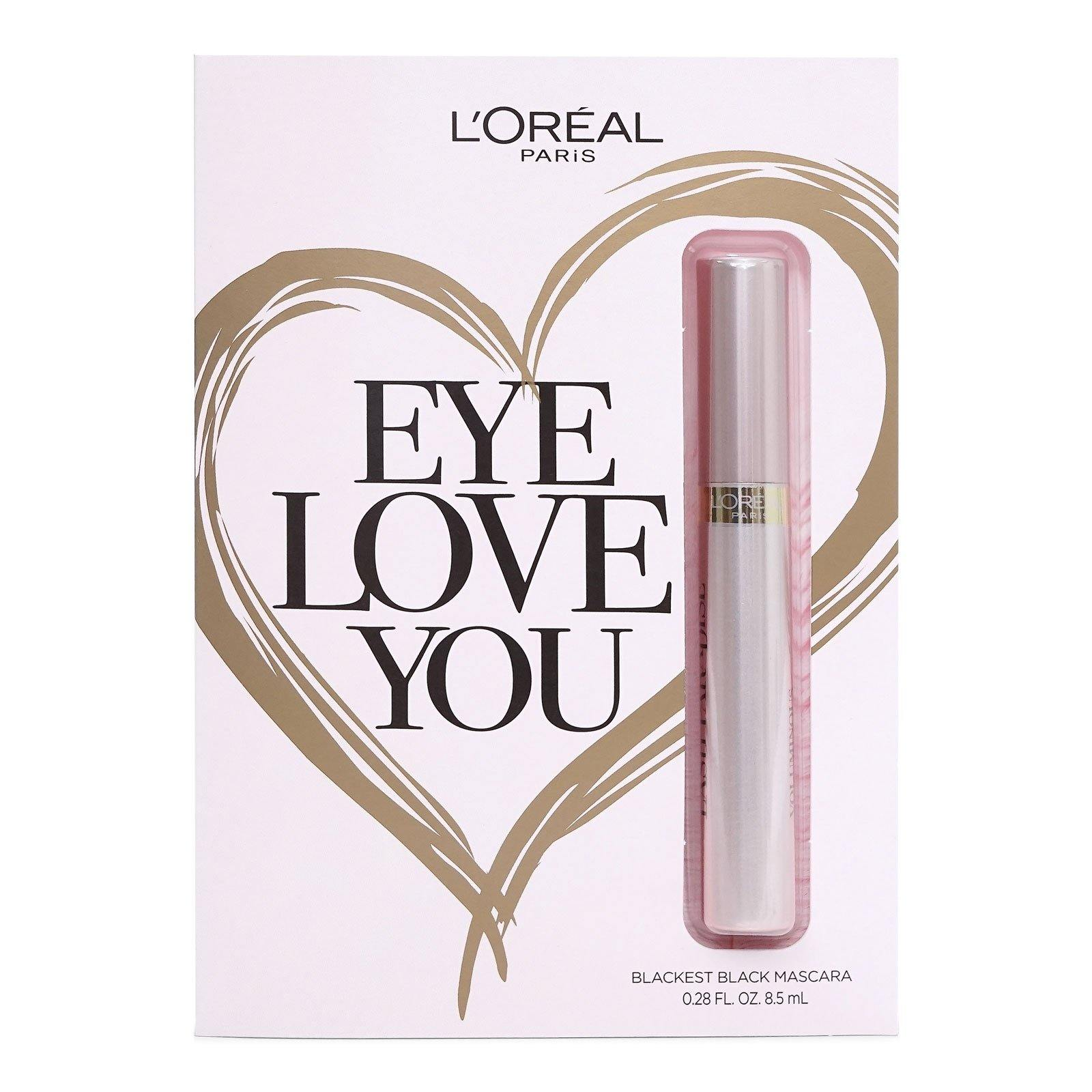 L'Oreal Lash Paradise Mascara, #300 Blackest Black - 0.28 fl oz (Eye Love You) (24/cs)