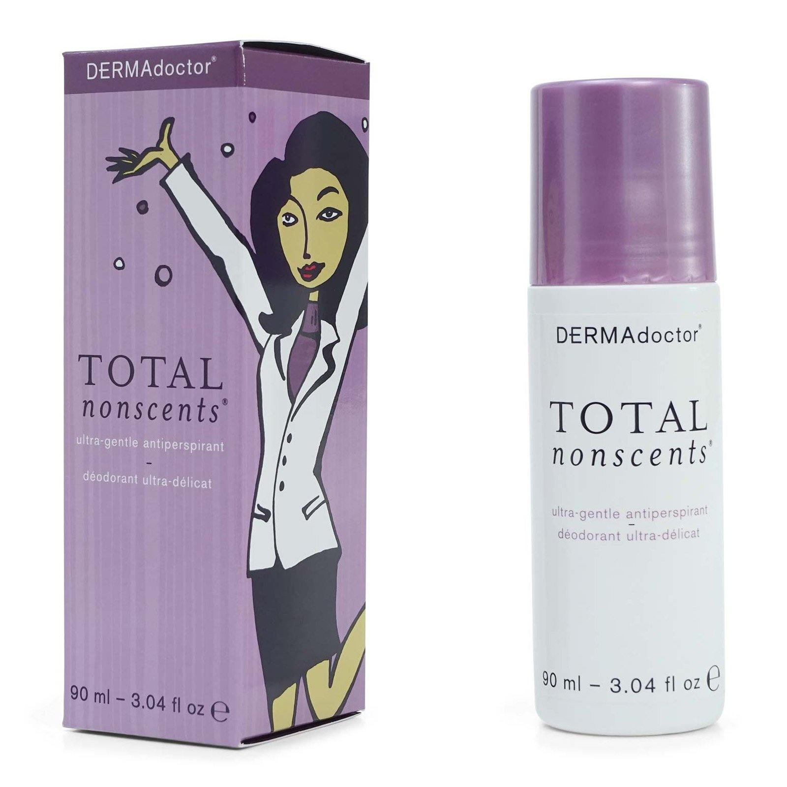 DermaDoctor Total Nonscents Ultra Gentle Antiperspirant - Quick-drying formula for eczema, atopic or contact dermatitis. (12/cs)
