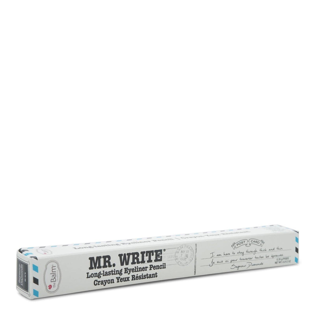 TheBalm - Mr. Write Long Lasting Eyeliner Pencil - Diamonds (Black), 0.01 oz (3/cs)