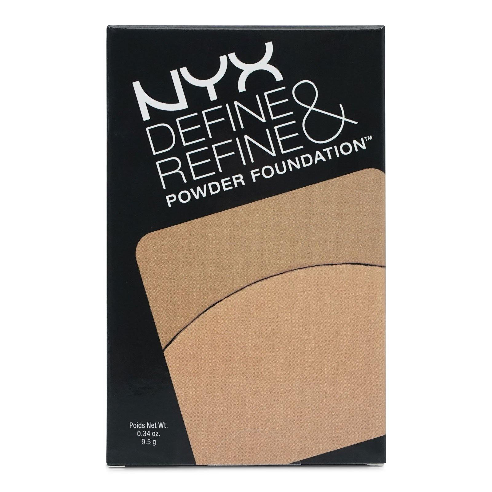 NYX DEFINE & REFINE POWDER FOUNDATION - BEIGE (24/cs)