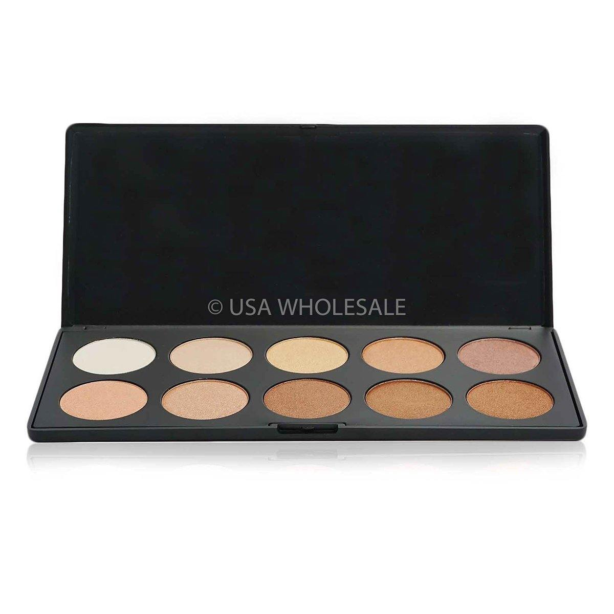 BEAUTY CREATIONS | Glowing Land Eyeshadow Palette (10 Shades X Case of 12)