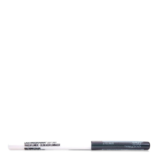 MAYBELLINE LASTING DRAMA LIGHT LINER- TWINKLE BLACK # 850 (24/cs)
