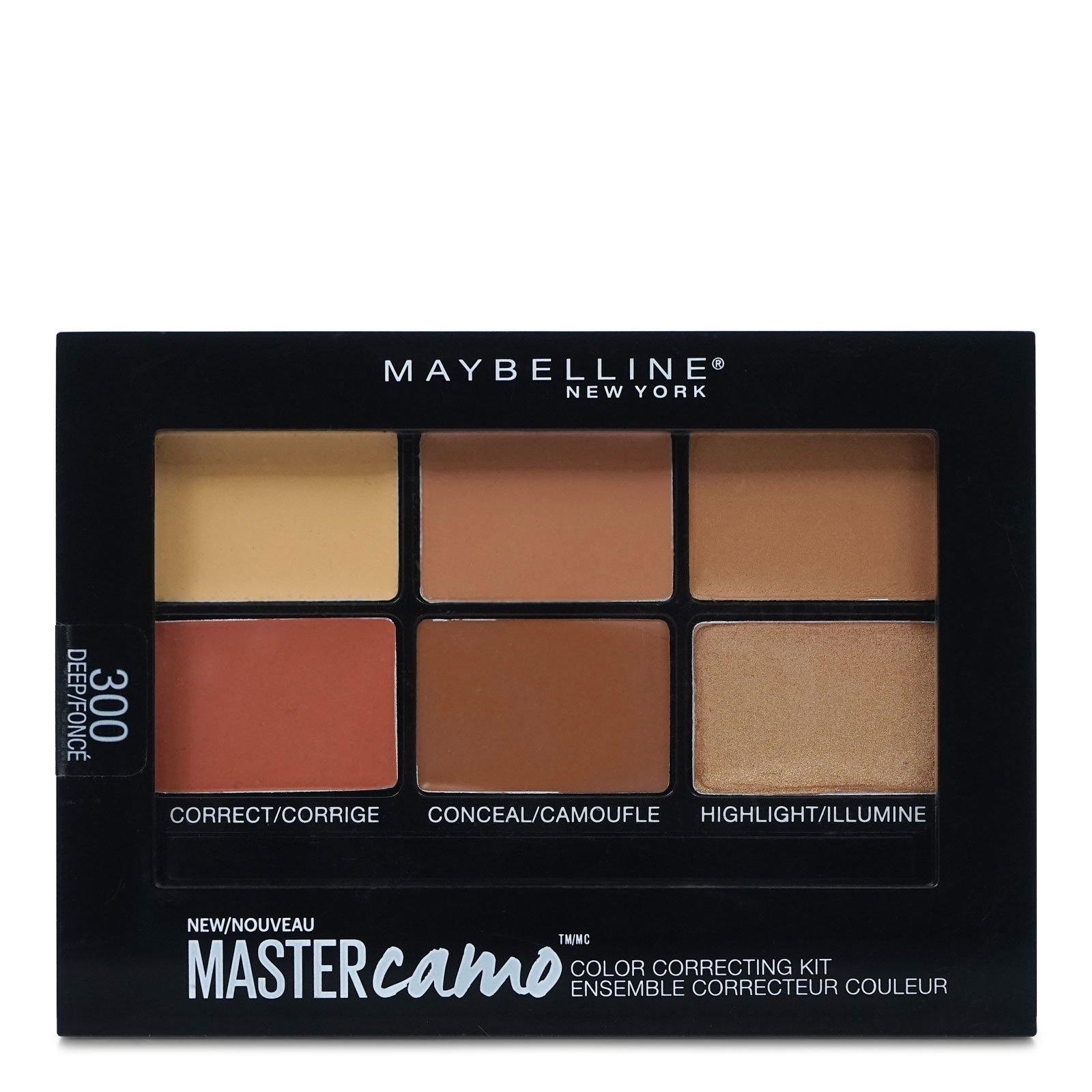 MAYBELLINE MASTER CAMO CONCEALER KIT - DEEP # 300 (24/cs)