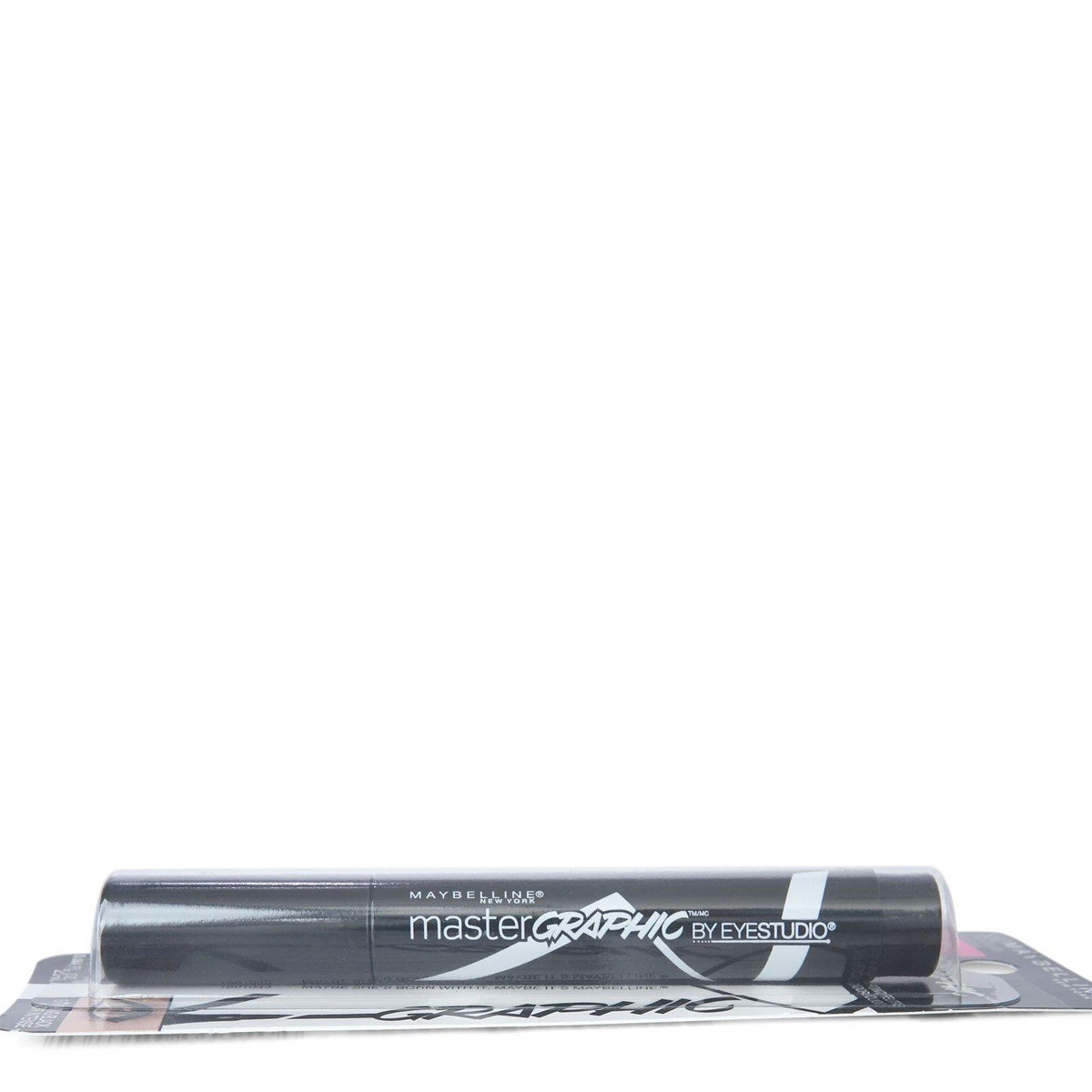 Maybelline Master Graphic Liquid Eyeliner - Striking Black (24/cs)